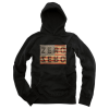 Zero United Army Pullover Hoodie - Black - Men's Sweatshirt