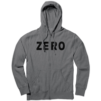 Zero Army Zip Hoodie - Gunmetal Heather - Men's Sweatshirt