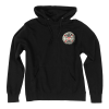 Independent BA Cross Pullover Hooded L/S - Black - Men's Sweatshirt