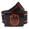 Spitfire Bighead Stripes - Black/Orange - Men's Belt