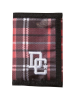 DC Plaidbar - Deep Red Plaid - Men's Wallet