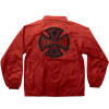 Independent Subdue Coach Windbreaker - Red - Men's Jacket