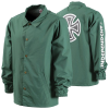 Independent Bar/Cross Coach Windbreaker - Forest - Men's Jacket