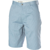 Volcom Frickin Stripe Chino Short - Blue - Mens Shorts