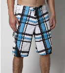 O'Neill Superfreak Printed - Blue - Mens Boardshorts