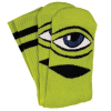 Toy Machine Sect Eye III - Green - Men's Socks (1 Pair)