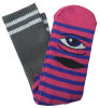 Toy Machine Sect Eye Stripe - Pink/Blue - Men's Socks (1 Pair)