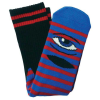 Toy Machine Sect Eye Stripe - Red/Blue - Men's Socks (1 Pair)