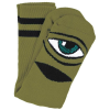 Toy Machine Sect Eye III - Army - Men's Socks (1 Pair)
