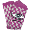 Toy Machine Sect Hounds - Grey/Purple - Men's Socks (1 Pair)