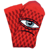 Toy Machine Sect Herring - Red - Men's Socks (1 Pair)