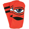 Toy Machine Sect Eye III - Red - Men's Socks (1 Pair)