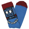 Toy Machine Robot - Blue - Men's Socks (1 Pair)