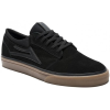 Lakai Griffin - Black/Dark Gum Suede - Men's Skateboard Shoes