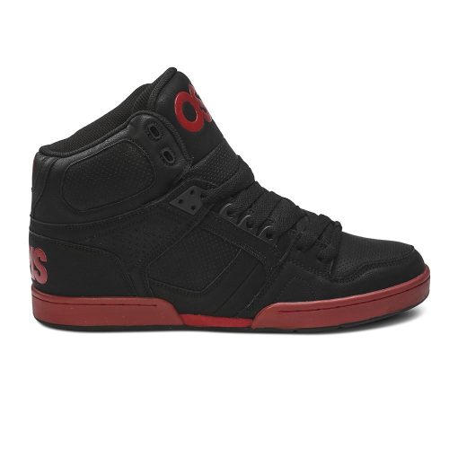 49e8ed8e9b Osiris NYC 83 - Black/Red - Men's Skateboard Shoes +Larger Button ...