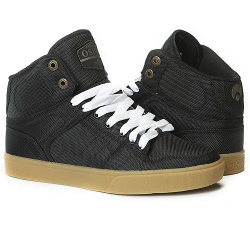 bbddabaa4f Osiris NYC 83 VLC DCN - Black/Black/Copper - Men's Skateboard Shoes +Larger  Button ...