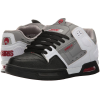 Osiris Peril - White/Grey/Red - Men's Skateboard Shoes