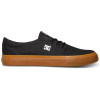 DC Trase TX - Black w/ Gum BGM - Men's Skateboard Shoes