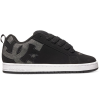 DC Court Graffik SE - Black Wash (BW8) - Men's Skateboard Shoes