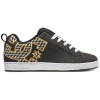 DC Court Graffik S - Black/Gold (BG3) - Women's Skateboard Shoes