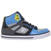 DC Spartan High WC - Black/Armor/Turquoise (KRQ) - Men's Skateboard Shoes