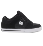 DC Pure - Black/Black/White (BLW) - Men's Skateboard Shoes