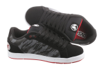 DVS Charge - Black Leather 010 - Skateboard Shoes