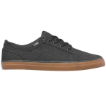 DVS Aversa - Black/Gum Canvas Textile 002 - Skateboard Shoes