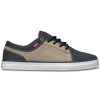 DVS Aversa - Navy/Tan Canvas 412 - Men's Skateboard Shoes