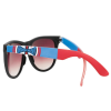 Independent DONS Square O/S - Black/Blue/Red - Sunglasses
