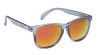 Glassy Deric - Clear Grey/Red Mirror - Sunglasses