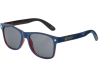 Glassy Leonard - Navy/Transparent Red - Sunglasses