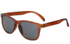 Glassy Deric - Transparent Coffee - Sunglasses