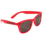Santa Cruz Strip Shades O/S - Red - Sunglasses