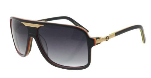 4311080c13d17 Von Zipper Stache - Rasta - Mens Sunglasses +Larger Button ...