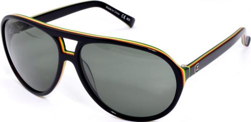 6dfdc5ea84c3b Von Zipper Telly - Rasta - Mens Sunglasses +Larger Button ...