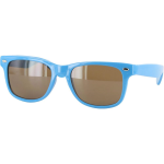 Chocolate Chunk Fluorescent Shades - Blue - Sunglasses