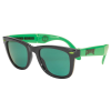 Creature Party First - Folding - OS Unisex - Black/Green - Sunglasses