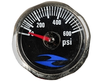 32 Degrees Paintball Gun Gauge - 600 PSI