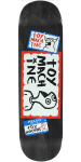 Toy Machine Hello - Assorted - 8.375in x 32.75in - Skateboard Deck