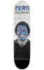 Zero James Brockman Re-Portrait R7 - Black/White - 8.375in - Skateboard Deck