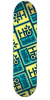 Habitat Pod Compressed Small - Blue/Yellow - 8.125in - Skateboard Deck