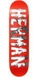 Baker BH Dabble - Red - 8.475in - Skateboard Deck