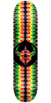 DarkStar Badge RHM - Rasta - 7.75in - Skateboard Deck