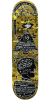 Anti-Hero Hewitt Starchart - Yellow - 8.25in x 32.0in - Skateboard Deck