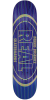 Real Busenitz Holographic Oval - Purple/Blue - 8.18in x 32.0in - Skateboard Deck