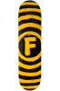 Foundation Vertigo Sketch - Yellow - 7.75 - Skateboard Deck