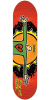 Foundation Servold Open Arms - Red - 8.0in - Skateboard Deck