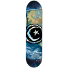 Foundation Star & Moon Earth - Blue - 8.375in - Skateboard Deck