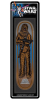 Santa Cruz Star Wars Chewbacca Collectible - Brown - 8.26in x 31.7in - Skateboard Deck